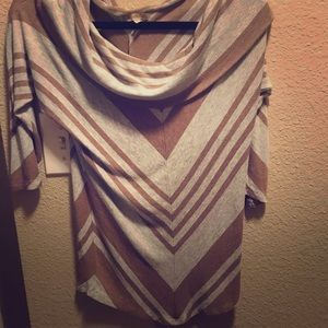 Bordeaux for Anthropologie Striped Sweater